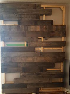 Wood Wall wood placement