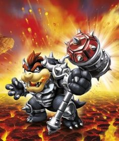 Dark Hammer Slam Bowser - Visit us at SkylanderNutts.com for more information on Dark Hammer Slam Bowser, retailers, reviews, unboxing and gameplay videos and more.