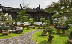 Ideas de decoración feng shui para el jardín