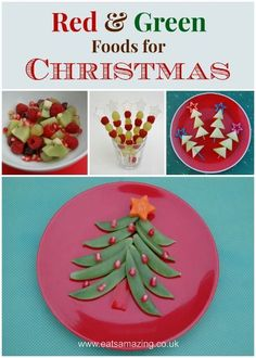 Eats Amazing Uk Red And Green Food Ideas For Christmas Would Make A Fun Theme For Christmas Lunches And Party Food Too