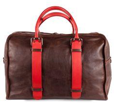 Cope Duffel #Leather #Bag #MoorerAndGiles