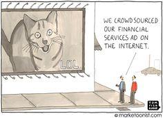 "Marketoonist, BrandCamp, ""Crowdsourcing Ads"", by Tom Fishburne"