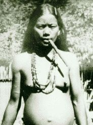 The original poster of this photo says she's a Taino, but I belive she may actually be a Tinguian from the Philippines.