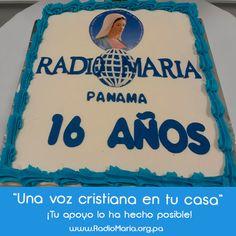 Celebremos los 16 años de Radio María en Panamá! Tu eres partes de esta alegría!