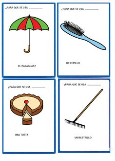El sonido de la hierba al crecer: comunicativo Spanish Class, Spanish Lessons, Teaching Spanish, Speech Language Therapy, Speech And Language, Speech Therapy, Matching Cards, Occupational Therapy, Preschool Activities