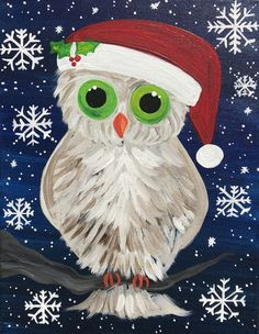 Happy Owl, Paper Owls, Christmas Owls, Owl Art, Winter Theme, Grinch, Special Occasion, Android, Scrapbook