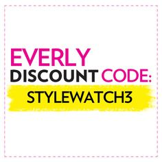 """From March 8 to April 12, mention """"STYLEWATCH3"""" over the phone or enter it at checkout for a 20% off discount on full-price and sale merchandise. Offer only valid in the U.S. and Canada. 20% lulus.com #StyleHunters"""