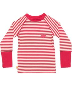 Albababy super striped pink T-shirt with long sleeves. albababy.en.emilea.be