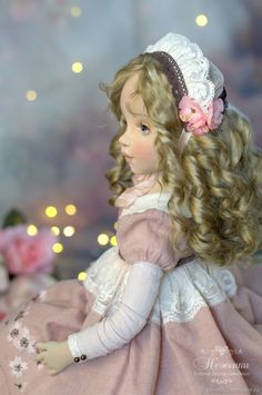 Коллекционные куклы ручной работы. Дикая роза, текстильная будуарная кукла. Елена Негороженко Art Dolls. Ярмарка Мастеров. Кукла
