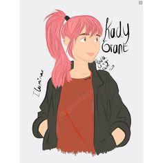 Dibujo hecho por mi de la protagonista de Illuminae. Comentad si os gusta (O si no) •KitKat• P.D. He pillado un gripazo... Que me cago en la **** #illuminae #kadygrant #ezramason #books #fanart