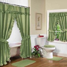 Full bathroom sets with shower curtain | lisadecor.com