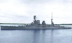 Lovely colourised photo of HMS Repulse, in 1928. | Flickr - Photo Sharing!