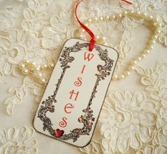 Wedding Wishing tree tags by WishfulThinking4You