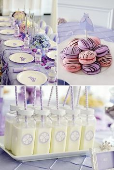 Food ideas for a Sofia the First Birthday Party