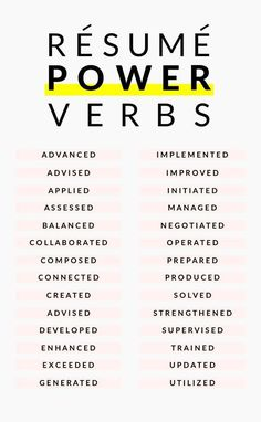 Career infographic & Advice Resume power verbs and Resume tips to boost your Resume. Image Description Resume power verbs and Resume tips to boost your The Words, Cv Curriculum Vitae, Cv Inspiration, Entrepreneur Inspiration, Job Resume, Resume Help, Resume Ideas, Skills For Resume, Business Resume