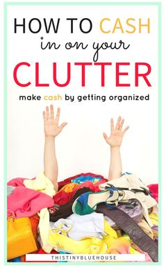 Are you looking for the easiest and most perfect side hustle ever? Here are 12 types of household clutter that you can start cashing in on right now. Organize your home and make money by selling these 12 types of items.