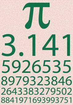 π = 3.14......