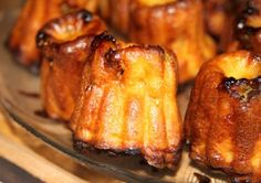 Cannelés with Figs and Feta