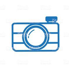 Summer camera outline line art flat icons - Royalty-free Blue stock vector Camera Outline, Summer Camera, Summer Icon, Flat Icons, Book And Magazine, Free Vector Art, Photo Illustration, Image Now, Graphic Design Inspiration