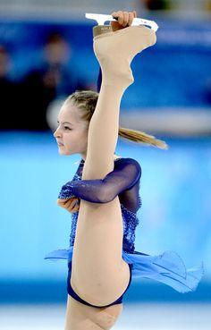 Yulia Lipnitskaya's 12 Best Leg Moments From the Sochi Olympics