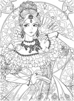 Detailed Coloring Pages, Cute Coloring Pages, Printable Coloring Pages, Adult Coloring Pages, Coloring Books, Anime Drawings Sketches, Cool Drawings, Colored Pencil Artwork, Diy Y Manualidades