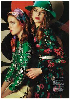 Harper's Bazaar Hong Kong February 2015 - Saint Laurent