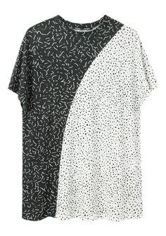 Proenza Schouler / Split Print Tissue T-Shirt | La Garçonne