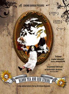 """BLOOD TEA AND RED STRING Stop motion, tassidermia, occultismo e tradizione: senza dubbio si tratta di uno dei mix più originali e ad alto tasso artistico della storia dell'animazione per adulti, che s'ispira tanto a Burton quanto a Svankmajer; ma forse è un'opera più adatta alla Biennale di Venezia piuttosto che alla notte degli Oscar. RSVP: """"Little Otik"""", """"Nightmare Before Christmas"""". Voto: 9."""