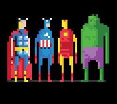 8 bit avengers