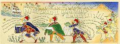 「東方の三人の王-green」 版画(額付)