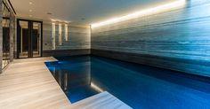 Luxury basement pool in Chelsea, London! Swiming Pool, Indoor Swimming Pools, Swimming Pool Designs, House Property, Property Real Estate, Vintage White Bedroom, Basement Pool, Pool Installation, Dream Properties