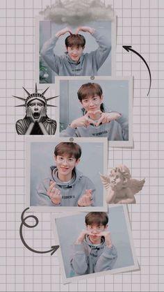 Chanyeol Cute, Park Chanyeol Exo, Kpop Exo, Kyungsoo, Trippy Wallpaper, Bear Wallpaper, Chanbaek, Exo Music, Park Seo Joon