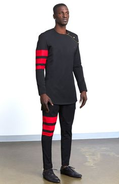 Threaded Culture is the home for Contemporary African clothing, We've re-envision what African fashion and its aesthetic looks like through a unique approach towards design,and innovative construction methods. African Dresses Men, African Clothing For Men, African Shirts, African Wear, Mens Clothing Styles, African Outfits, Nigerian Men Fashion, African Print Fashion, Estilo Dandy