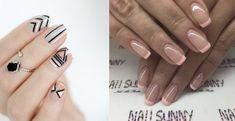 5 Όμορφα σχέδια για απλό μανικιούρ! | ediva.gr Nails, Beauty, Ongles, Nail, Cosmetology, Beauty Illustration, Sns Nails, Finger Nails, Manicures
