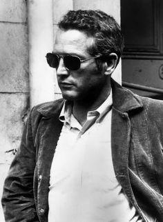 Paul Newman is the essence of urban cool. #wherewebelong