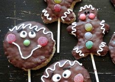 Rice Krispy Gingerbread Men