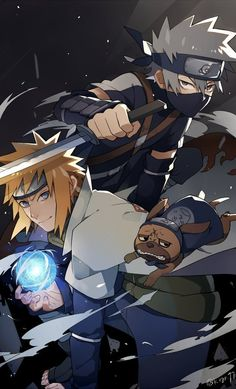 Minato and Kakashi, and then there's Pacoon