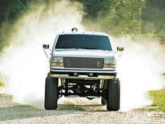 1997 F-350 diesel tearing up the off road scene!  These trucks are amazing!