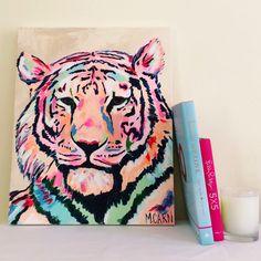 Spiffy Tiger by Megan Carn