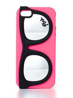 VS PINK Fashion iPhone® 5 Case in Neon Hot Pink