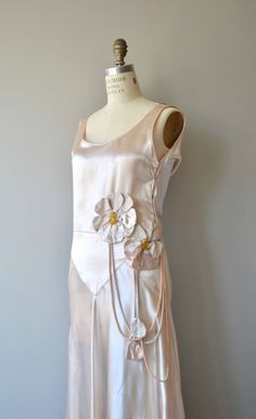 Effleurer dress  vintage 1920s dress  antique 20s silk dress