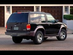 My old car, late 90's model Ford Explorer Sport. (the remake of the Brono)