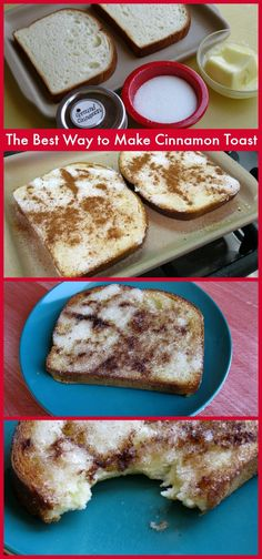The Best Way to Make Cinnamon Toast