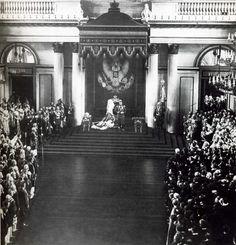 Торжественное открытие Государственной думы и Государственного совета. Зимний дворец. 27 апреля 1906