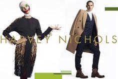 Harvey Nichols Campaign with paper makeup Paper Makeup, Lisa Eldridge, Harvey Nichols, International Fashion, Face Art, Supermodels, Make Up, Celebrities, Beauty