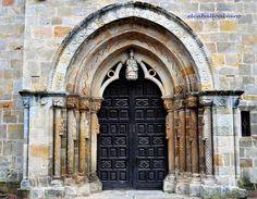 356 - Portada - Iglesia Santa María de la Oliva - Villaviciosa (Asturias) - Spain. | Flickr - Photo Sharing!