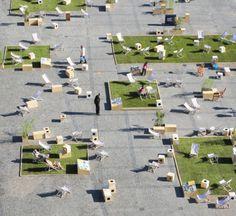 Un bel exemple d'aménagement participatif et citoyen d'espace public | l'Adéus
