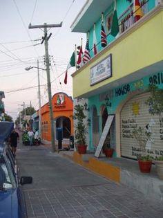 El Centro (downtown) Isla Mujeres