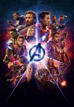 Avengers: Infinity War Textless Imax Poster