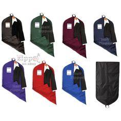 "Liberty Bags Garment Bag 9009 Travel Storage Nylon 47/"" x 25/""  7  colors"